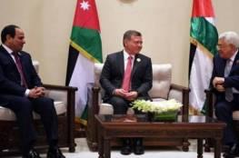 كانت مقررة بحضور بينيت.. قمة فلسطينية مصرية أردنية ثلاثية في القاهرة غدا