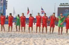فيديو.. منتخب الشاطئية رابعا في كأس أمم آسيا