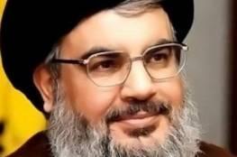 نصر الله: نتنياهو يحرض على الحكومة اللبنانية ويدعي انها لحزب الله
