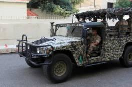 الجيش اللبناني يوقف 10 سوريين ولبنانيا حاولوا الهجرة عبر مركب بحري