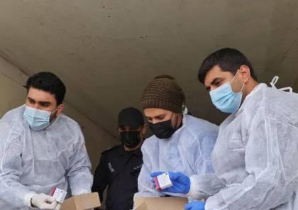 """فيديو لحظة وصول اللقاح الروسي """"سبوتنيك V"""" إلى غزة عبر معبر كرم أبو سالم"""