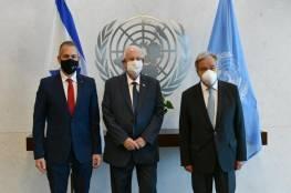 ريفلين لـ غوتيريش: أي اتفاق مع غزة يجب ضمان عودة الأسرى