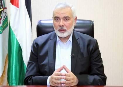 هنية: سنعود إلى قدسنا وأقصانا محررين ولا مستقبل للاحتلال في أرضنا