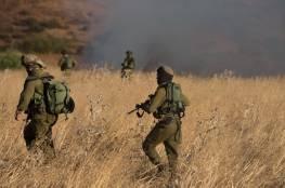 الجيش الاسرائيلي ينفذ مناورة حية في غلاف غزة غداً