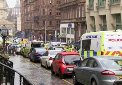 إصابات بينها ضابط شرطة طعنًا في غلاسكو بإسكتلندا