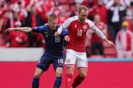 اختيار إريكسن أفضل لاعب في مباراة الدنمارك وفنلندا