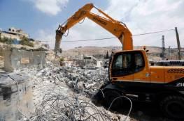 الاحتلال يهدم منزلا من طابقين في سلوان بالقدس