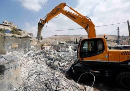 """""""أوتشا"""": الاحتلال هدم 474 مبنى فلسطينيًا منذ بداية 2021"""