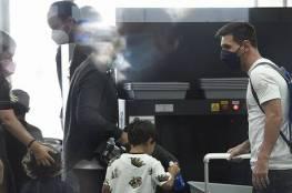بالفيديو: ميسي يصل مطار برشلونة استعدادا للتوجه إلى باريس للانضمام لسان جيرمان