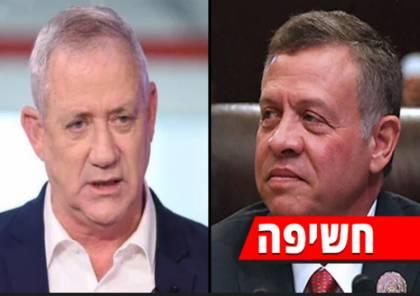 يديعوت : غانتس التقى سرا الملك الأردني عبد الله الثاني في عمان