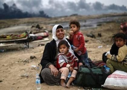 """7500 لاجئ فلسطيني يعيشون """"حياة بدائية"""" في الشمال السوري"""