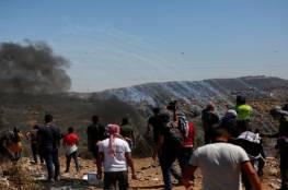 ثلاث اصابات احداها خطيرة برصاص الاحتلال في بلدة قصرة جنوب نابلس