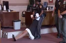 فيديو.. فوضى وعنف أثناء اعتقال قاضية أمريكية في قاعة المحكمة