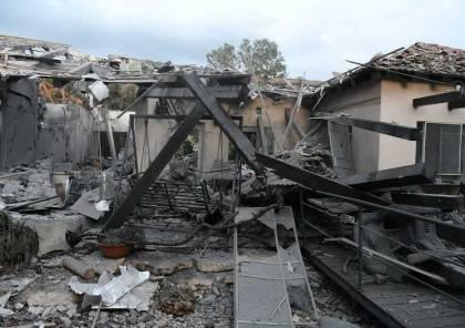 صور ..صاروخ من عزة يضرب منطقة وسط اسرائيل واصابة 7 اسرائيليين بجراح ودمار كبير