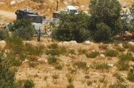 قوات الاحتلال تهدم غرفتين زراعيتين وبئر مياه جنوب بيت لحم
