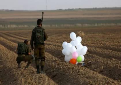 إعلام إسرائيلي: بالونات حارقة في سماء الغلاف.. والعمادي يصل غزة الاسبوع المقبل