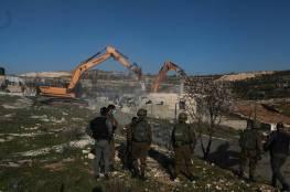 الاحتلال يهدم حضانة أطفال في بيت صفافا بالقدس