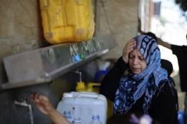 الميزان: أزمة المياه تهدد حياة سكان غزة وتنذر بكارثة حقيقية