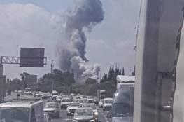 انفجار في خط إنتاج عسكري إسرائيلي قرب تل ابيب