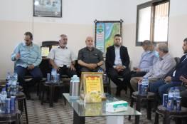 لجان المقاومة تستقبل وفدا رفيعا من حماس للتهنئة بالإنطلاقة22