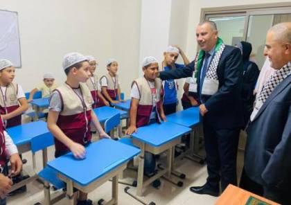 """""""الأوقاف"""" تفتتح مدرسة لتعليم القرآن الكريم في نابلس وتكرم فوج """"نصرة المسرى والأسرى"""""""