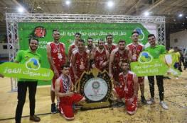 تتويج خدمات البريج بطلا لدوري جوال لكرة السلة 2020