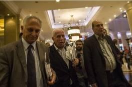 وفد حزب الشعب يصل القاهرة للمشاركة في الحوار الوطني