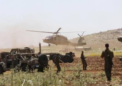 تدريبات عسكرية إسرائيلية في غلاف غزة