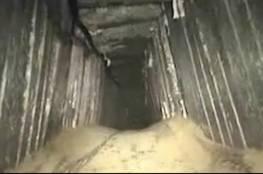 فيديو : نظرة داخل أحد أنفاق حماس بحسب الاعلام العبري