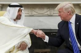 """ترامب يهنئ بن زايد بالتقدم في تطبيق """"اتفاقات أبراهام"""""""