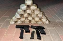 الاحتلال يحبط محاولة تهريب مسدسات ومخدرات على الحدود مع لبنان