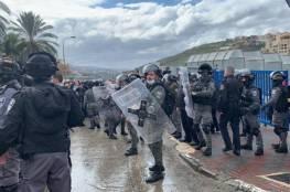 إصابتان في كفر كنا تزامنًا مع تظاهرة تشهدها أم الفحم