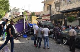 3 إصابات بانفجار في رام الله