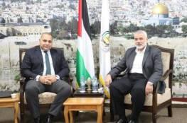 صور: عودة وفد حماس إلى قطاع غزة و الوفد المصري يلتقي هنية