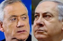 """غانتس لنتنياهو: الأمن الإسرائيلي ليس موضوعاً للخصام السياسي و""""العمل بصمت يفوق الأقوال"""""""