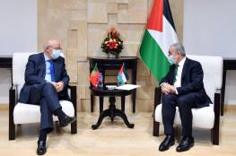 اشتيه يؤكد ضرورة تشكيل تحالف دولي لإعادة إحياء عملية السلام