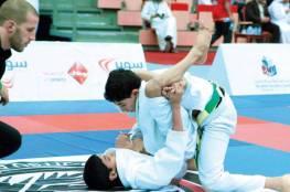 فلسطين تحصد ميداليتين ذهبية وفضية في رياضة الجوجيتسو