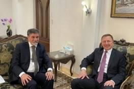 عبد الهادي يبحث مع السفير الروسي لدى سوريا آخر التطورات في فلسطين