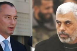 حماس تكشف تفاصيل اجتماعها مع مبعوث الامم المتحدة للسلام ملادينوف...