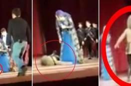 فيديو... لحظة موت راقص شيشاني على المسرح