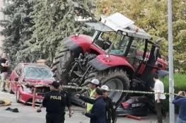 محاولة لاقتحام السفارة الإسرائيلية في أنقرة واطلاق النار على السائق