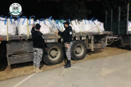 الضابطة الجمركية تضبط شاحنة محملة بالنفايات قادمة من إحدى المستوطنات في بيت لحم