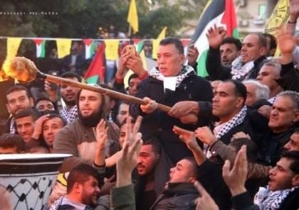 حلس بذكرى الانطلاقة في غزة: جاهزون للانتخابات ومطالبكم عنوان المرحلة القادمة ونريد إنصافكم