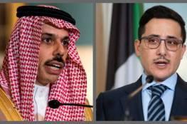 وزير الخارجية السعودي يجري محادثات مع نظيره الكويتي