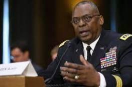 وزير الدفاع الأمريكي يؤكد لنظيره الإسرائيلي دعم بلاده وقف إطلاق النار مع الفلسطينيين