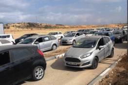 الاحتلال يسمح بإدخال 97 مركبة حديثة لغزة
