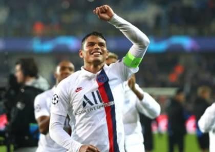 باريس سان جيرمان يجدد عقد تياجو سيلفا ولاعبين آخرين