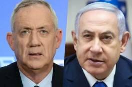 """إسرائيليون يتظاهرون ضد """"اتفاق نتنياهو وغانتس"""""""