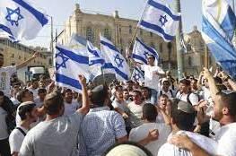 """صحيفة: مستوطنون يقررون إعادة """"مسيرة الأعلام"""" في القدس الخميس القادم"""