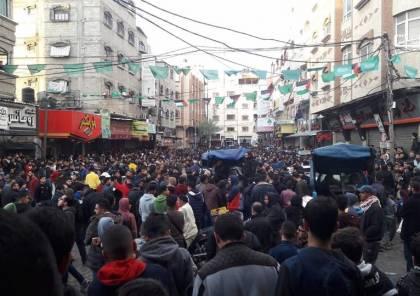 صور: لليوم الثاني.. تظاهرات في غزة مناهضة لغلاء الاسعار ومواجهات مع الأمن